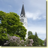 Church on Mackinac Island